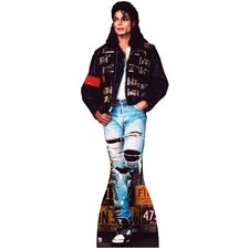 Michael Jackson - License Plates Cardboard Stand-Up