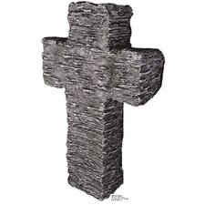 Granite Stone Tombstone Cardboard Stand-Up