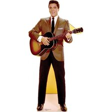 Elvis Sportscoat Guitar Cardboard Stand-Up
