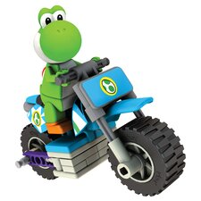 Nintendo Yoshi and Standard Bike Building Set