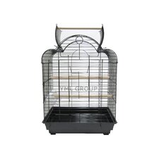 "3/4"" Bar Spacing Open Dome Scallop Top for Bird Cage"