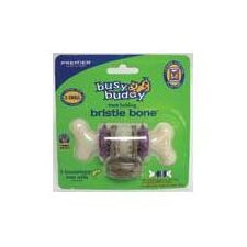 Bristle Bone Dog Toy in Purple