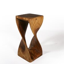 Tall Twist End Table