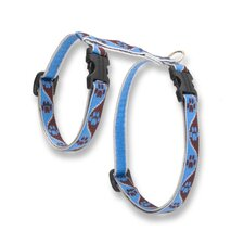 "Muddy Paws 1/2"" Adjustable H-Style Cat Harness"