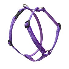 "Jelly Roll 3/4"" Adjustable Medium Dog Roman Harness"