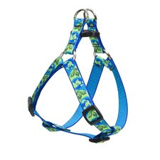 "Earth Day 3/4"" Adjustable Medium Dog Step-In Harness"