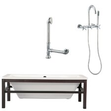 "Tella 66"" x 30"" Bathtub"