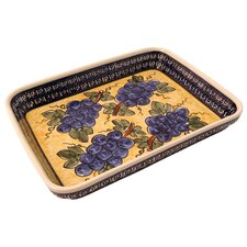 "12""  Rectangular Baking Pan - Pattern DU8"