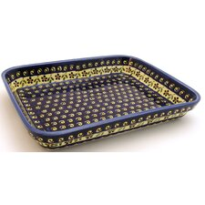 "12""  Rectangular Baking Pan - Pattern 175A"