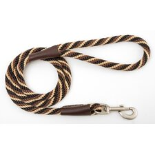 Twist Snap Leash in Mocha