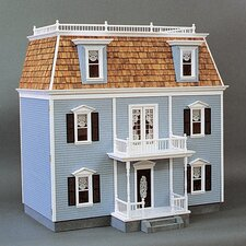 Front Opening Federal Dollhouse