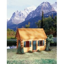 Quickbuild Crockett's Cabin Dollhouse Kit