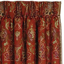 Toulon Cotton Rod Pocket Curtain Single Panel
