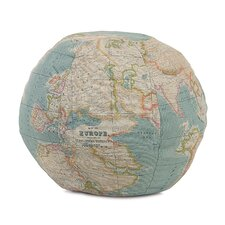Kai Monde Globe Decorative Pillow