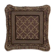 Reagan Polyester Larissa Decorative Pillow with Border
