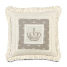 Daphne Polyester Border Collage Decorative Pillow