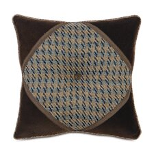 Powell Polyester Garrett Diamond Tufted Decorative Pillow
