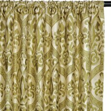 Jaya Cotton Rod Pocket Blackout Curtain Single Panel