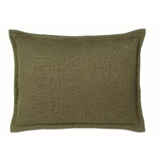 Melange Haberdash Pillow with Mini Flange