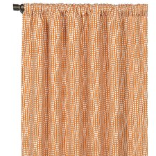 Dawson Rod Pocket Curtain Single Panel