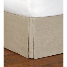 Rustique Burlap Straight Bed Skirt
