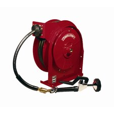 "0.38"" x 35', 150 psi, Portable Drinking & Pre-Rinse Enclosed Reel with Hose"