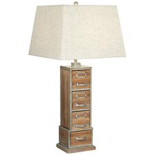 Vintage Library 1 Light Table Lamp