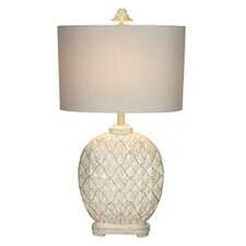 Kathy Ireland Essentials Marrakesh Weave Table Lamp