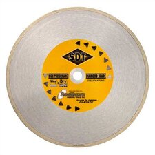 General Purpose Wet Continuous Rim Diamond Blades