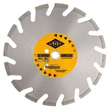 Wide U-Shaped Laser Weld Brick & Block Segmented Diamond Blades