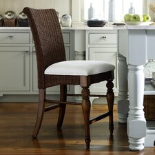 Coastal Dining Room Woven Counter Stool