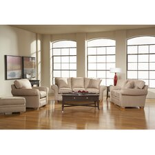 Zachary Queen Sleeper and Loveseat Set (Set of 4)