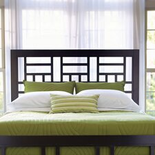 Perspectives Lattice Headboard in Graphite