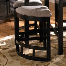 Mirren Pointe Upholstered Seat Wedge Counter Stool (Set of 4)