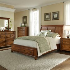 Hayden Place Storage Sleigh Bed