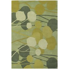 Inhabit Designer Lime Rug
