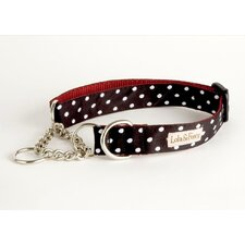 Betty Red/Black Martingale Dog Collar