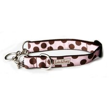Strawberry Shake Dots Martingale Dog Collar