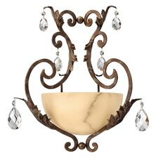 Barcelona Large 1 Light Wall Sconce