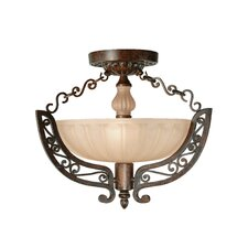 Constantine 2 Light Semi Flush Mount
