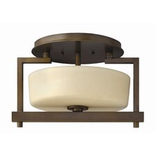 Candella 2 Light Semi Flush Mount