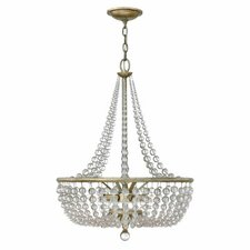 Caspia 4 Light Foyer Inverted Pendant