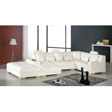 llo ChrisDanville Leather Sectional
