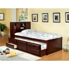 Montana Platform Captain Twin Bed with Trundle