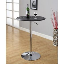 Citizen Leatherette Adjustable Bar Table