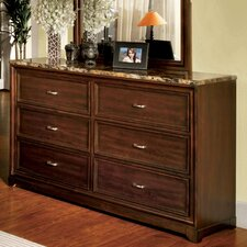 Brunswick 6 Drawer Dresser
