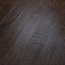 "Country Club 5"" Engineered Handscraped Maple Flooring in Bonfire"