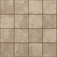 "Soho 12"" x 12"" Mosaic Tile Accent in Gascogne Beige"