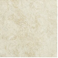 "Piazza 13"" x 20"" Ceramic Tile in Ivory"