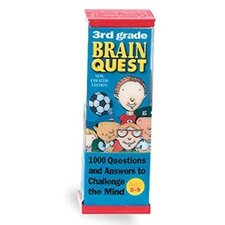 Brain Quest Game Deck - 3rd Grade